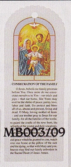 Bookmark - Holy Family - package of 100 - MB003-09