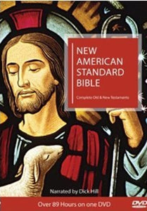 NEW AMERICAN BIBLE:  COMPLETE NEW  AND OLD TESTAMENT - DVD
