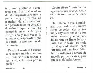 Novena en Honor a La Santa Cruz
