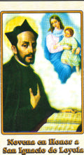 Load image into Gallery viewer, Novena en Honor a San Ignacio de Loyola