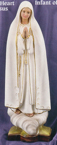 Our Lady of Fatima - 24 inch Statue