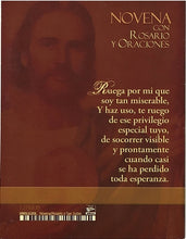 Load image into Gallery viewer, San Judas Tadeo -  Novena con Rosario y Oraciones
