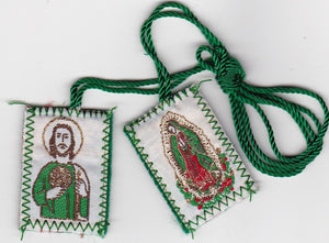 Scapular of St. Judas / Virgin of Guadalupe - 060.0008