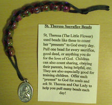 Load image into Gallery viewer, St.Theresa Sacrifice Beads - Plastic Beads