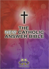 Load image into Gallery viewer, The NEW Catholic Answer Bible -NAB - Revised Edition - LARGE PRINT by Fireside