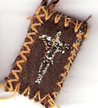 "Load image into Gallery viewer, Brown Scapular of Mount Carmel - Tiny  - 1/2"" x ¾"""