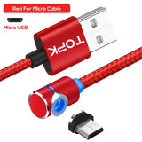 BOSS™ Cable - Magnetic Charging Cable 360° (✅ Buy One , Get One Free) Otakuzz Red Micro Cable 1m