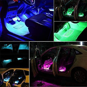 Car Interior Lights (Wireless Remote Control / Sound Active Function / APP Control) The Geek Shop 36 LED Remote Control Only