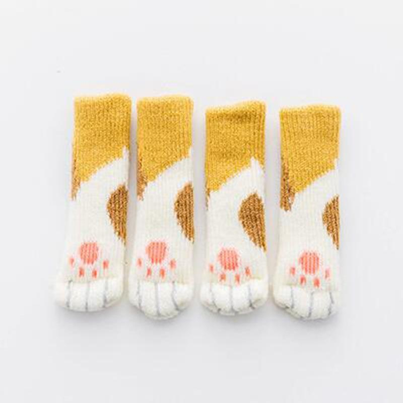 CAT PAW CHAIR SOCKS (4 PACK) The Geek Shop