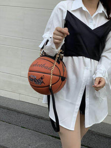 FASHION BASKETBALL SHAPE LUXURY BAG FOR WOMEN The Geek Shop