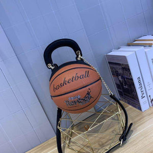 basketball shaped purse
