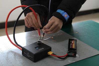 Mini Spot Welder for Batteries Using Notice!