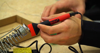 Maintenance of soldering iron