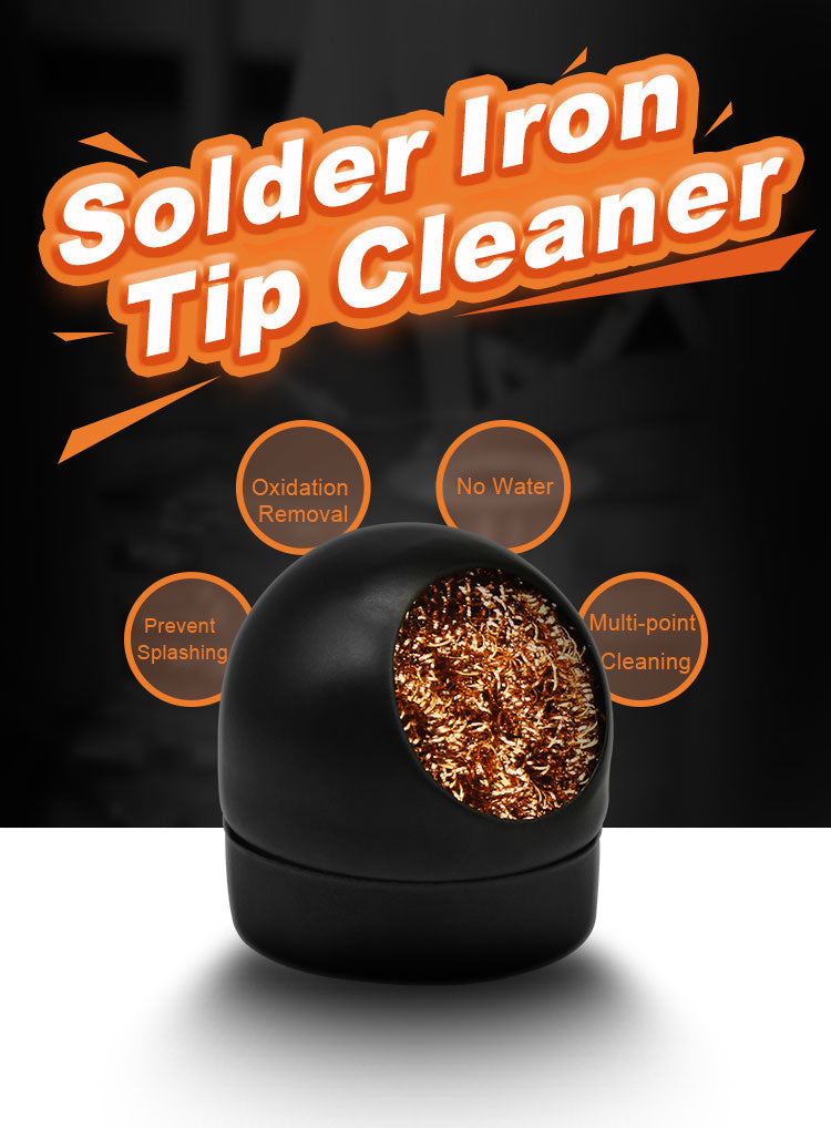 solder iron tip cleaner steel wire