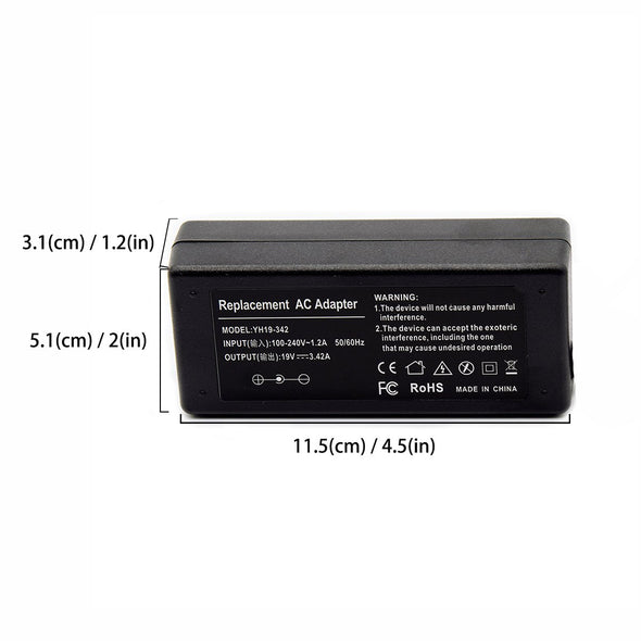 ac adapter SIZE