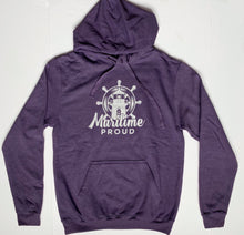 Load image into Gallery viewer, Unisex Heather Purple Hoodie
