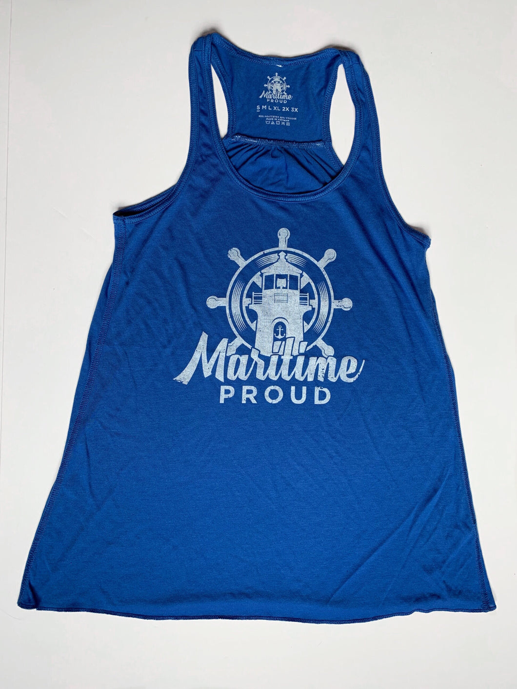 Women's Royal Blue Racerback Tank