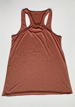 Load image into Gallery viewer, Women's Mauve Flowy Racerback Tank