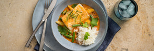 Matt Sinclair's Steamed Red Curry Fish