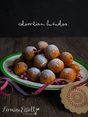Thermomix Colombian Christmas Buñuelos