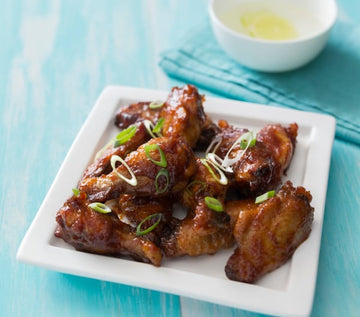 BBQ chicken winglets