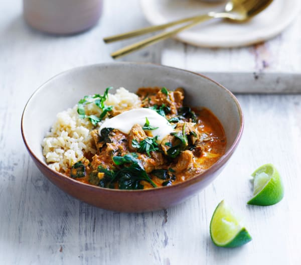Kid-friendly butter chicken