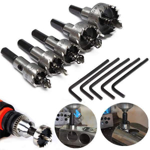 MULTIPURPOSE HOLE SAW DRILL BIT SET