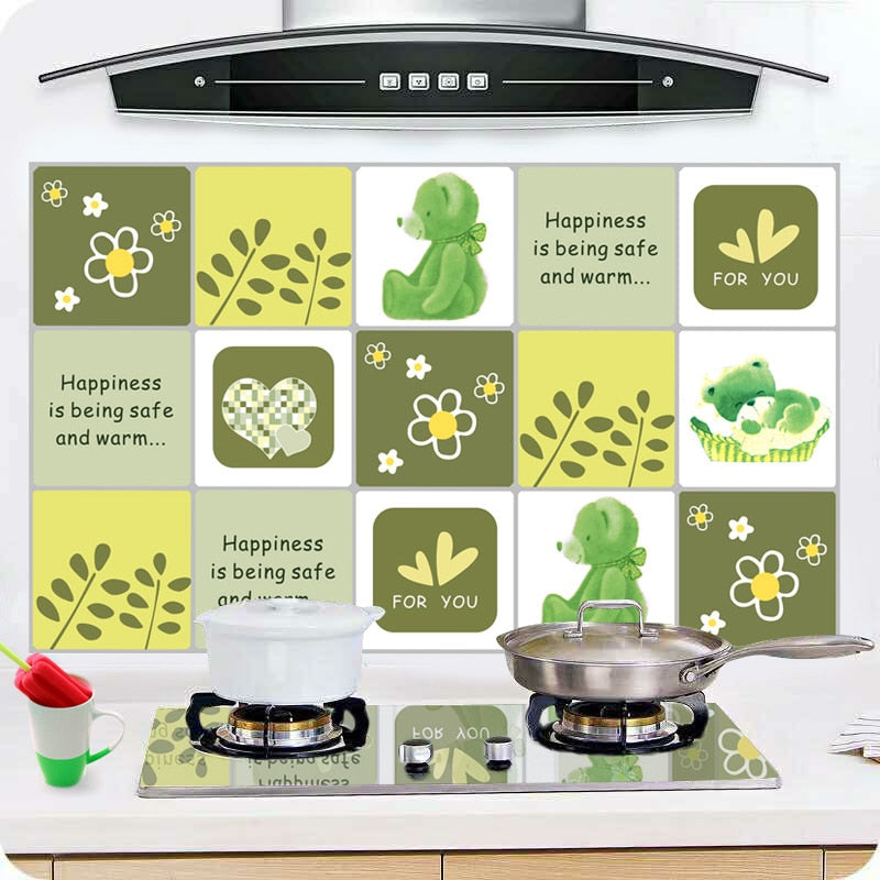 Kitchen Oil-proof Heat-resistant Sticker