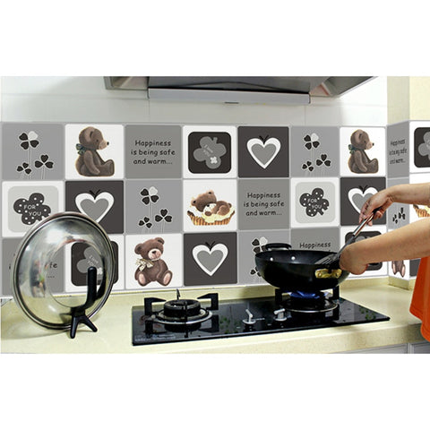 Image of Kitchen Oil-proof Heat-resistant Sticker