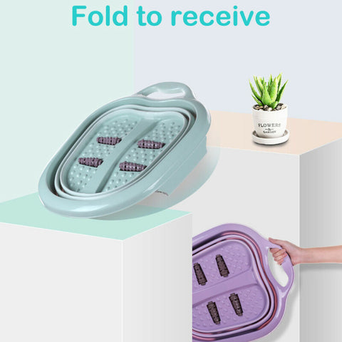 Image of Foldable Foot Spa Pedicure Buckets