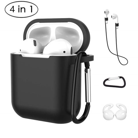 4 In 1 Earphone Silicone Case