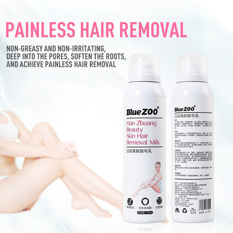 Painless Hair Removal Spray Cream Honestlyineedit