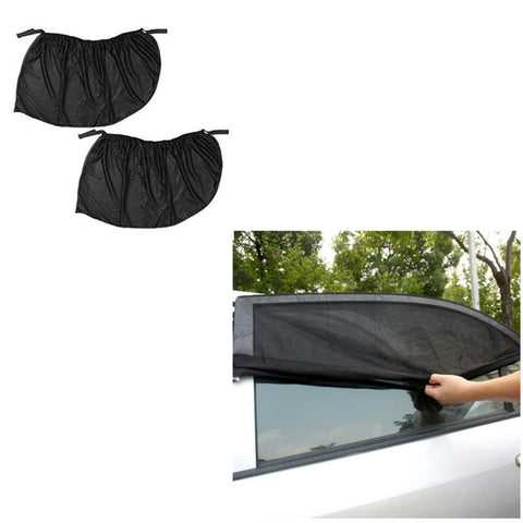 Image of 2Pcs Window Sun Shade Cover