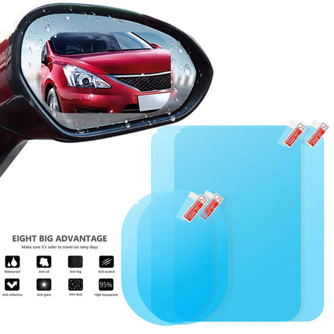 Image of Car Rear View Mirror Rainproof Film