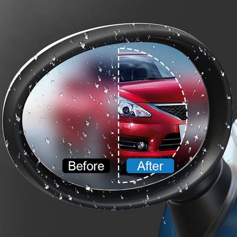 Car Rear View Mirror Rainproof Film
