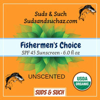 Fishermen's Choice Sunscreen Unscented - The Goat's Field
