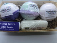 Strees Buster Bath Bomb Set - The Goat's Field