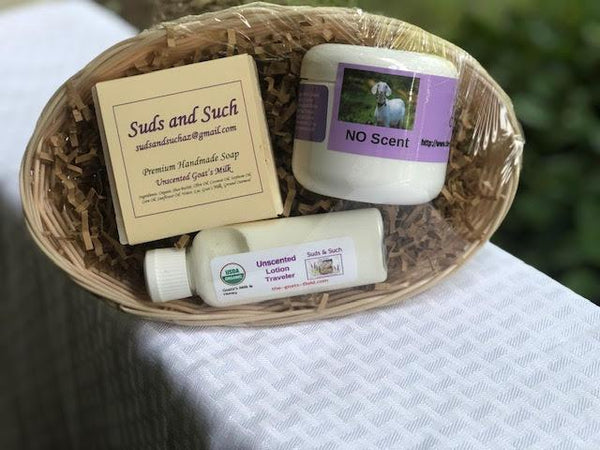 Unscented Gift Basket - The Goat's Field