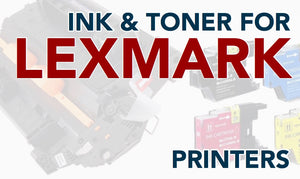 Toner and Ink for Lexmark Printers