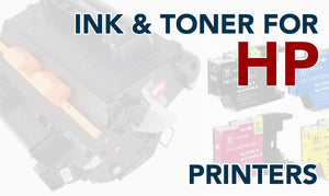 Toner and Ink for HP Printers
