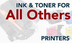 Toner and Ink for All other Brands