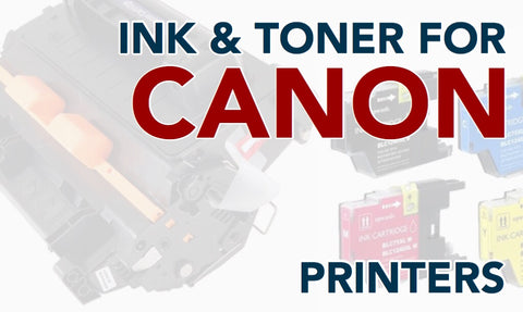 Toner and Ink for Canon Printers