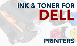 Toner and Ink for Dell Printers