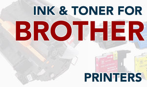 Toner and Ink for Brother Printers