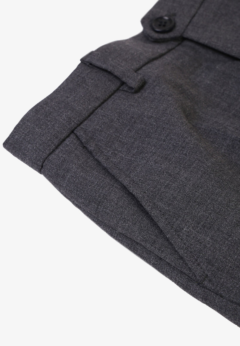 SMART WOOL TROUSERS
