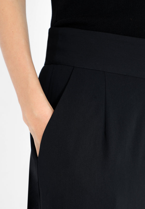 FLOWING CULOTTE TROUSERS