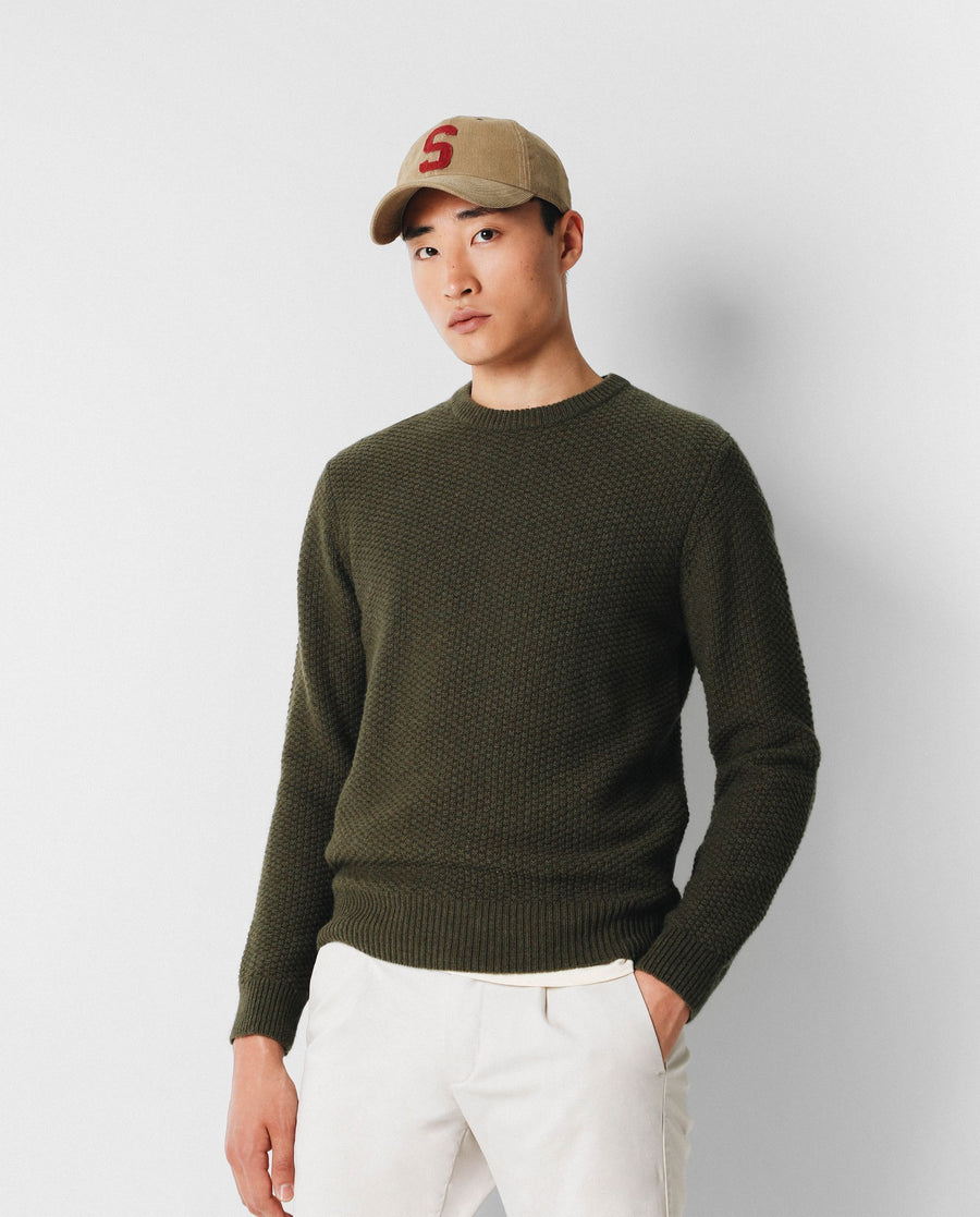 BASIC TEXTURED SWEATER