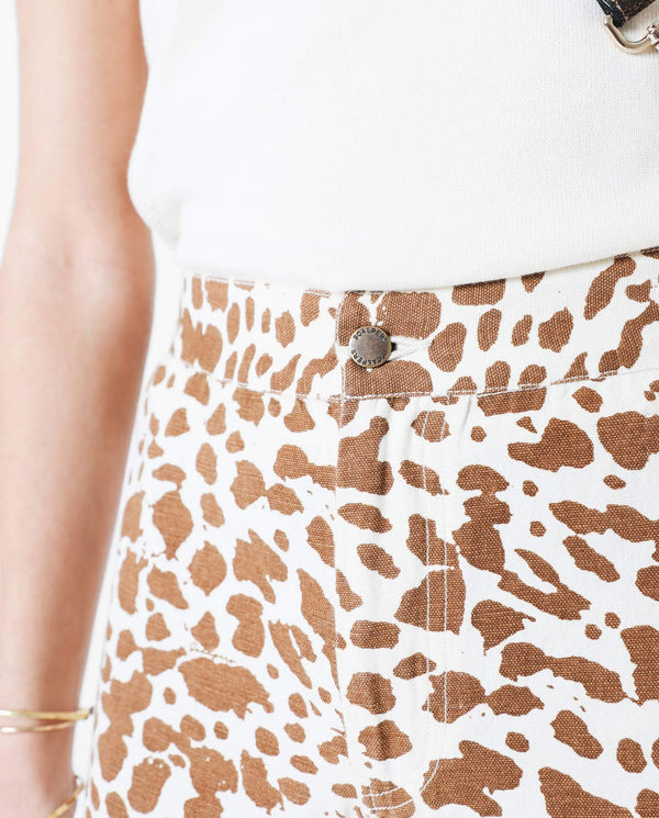 ANIMAL PRINT CULOTTES TROUSERS