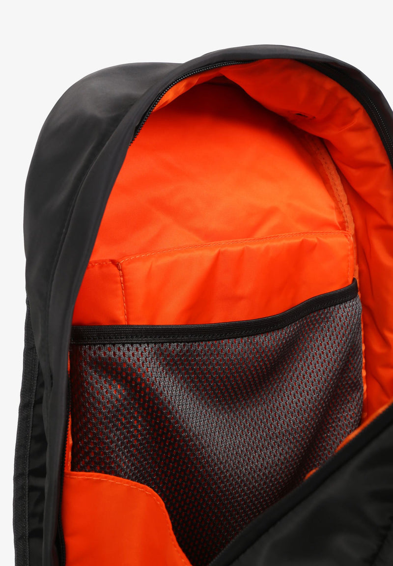BACKPACK WITH NEON LINING