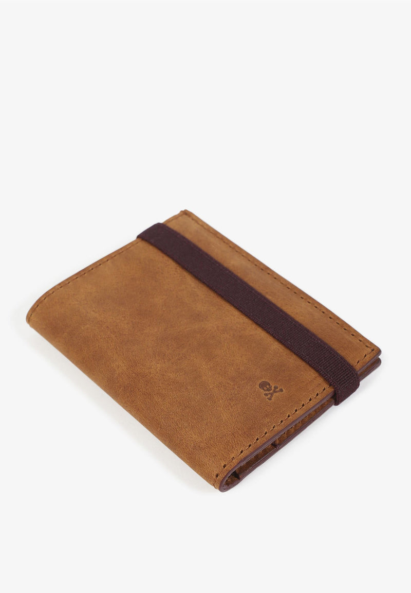 WALLET WITH ELASTIC BAND.